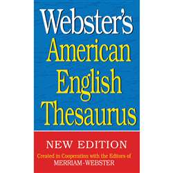 Websters American English Thesaurus By Federal Street Press