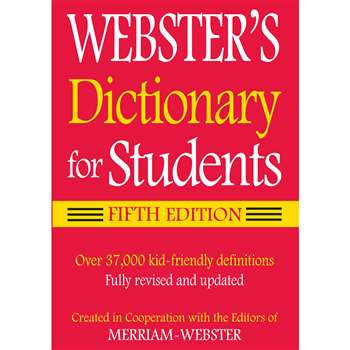 Webster Dictionary For Students Fifth Edition, FSP9781596951679