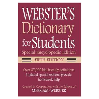 Webster Dictionary For Students Special Encycloped, FSP9781596951686