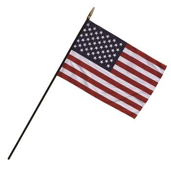 Heritage Us Classroom Flag 24 X 36 Flag 7/16 X 48 Staff By Independence Flag