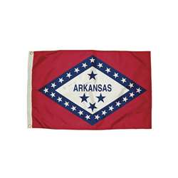 3X5 Nylon Arkansas Flag Heading & Grommets, FZ-2032051