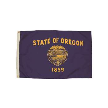 3X5 Nylon Oregon Flag Heading & Grommets, FZ-2362051