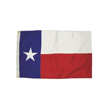 3X5 Nylon Texas Flag Heading & Grommets, FZ-2422051