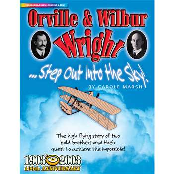 Orville & Wilbur Wright Step Out In To The Sky By Gallopade