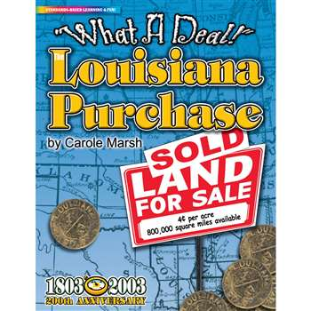 What A Deal The Louisiana Purchase By Gallopade