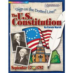 Sign On The Dotted Line The Us Constitution By Gallopade