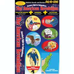 American Revolution All-In-One Bulletin Board Set By Gallopade