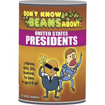 Dont Know Beans About United States Presidents By Gallopade