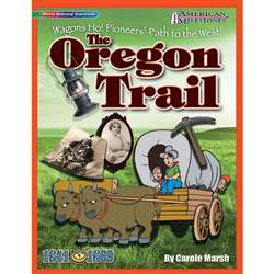 American Milestones The Oregon Trail By Gallopade