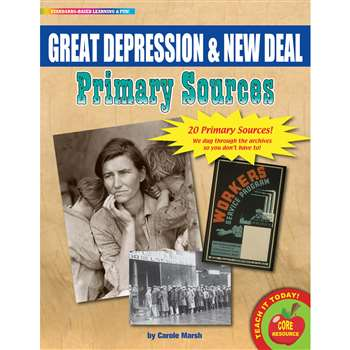 Primary Sources Great Depression & New Deal, GALPSPGRE