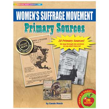 Primary Sources Womens Suffrage Movement, GALPSPWOMSUF