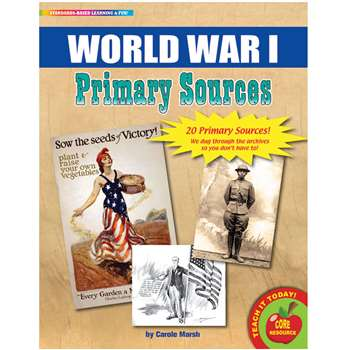 Primary Sources World War I, GALPSPWW1