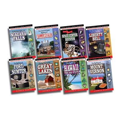 Real Kids Real Places Mysteries Set 4 Books 25-32, GALSPRKP2532KS