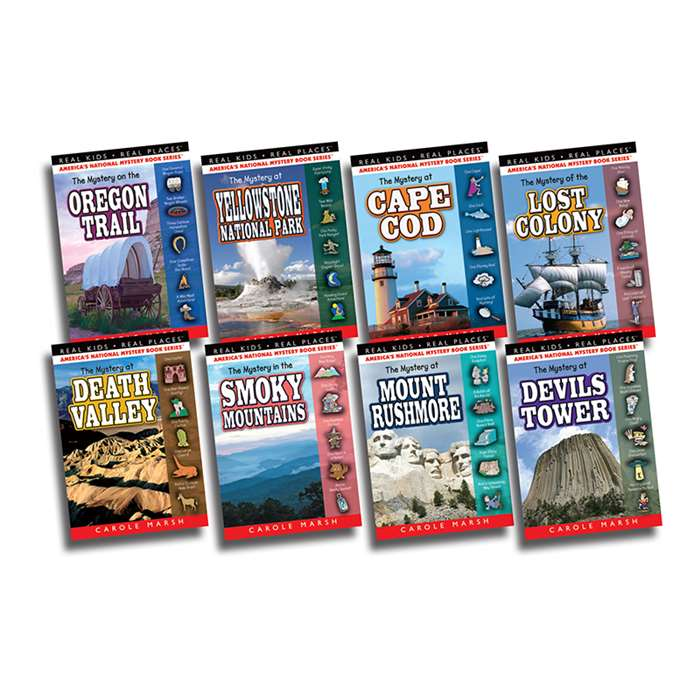 Real Kids Real Places Mysteries Set 5 Books 33-40, GALSPRKP3340KS