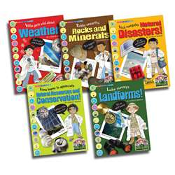 Science Alliance Earth Science Set Of All 5 Titles, GALSPSAPEARTHKS
