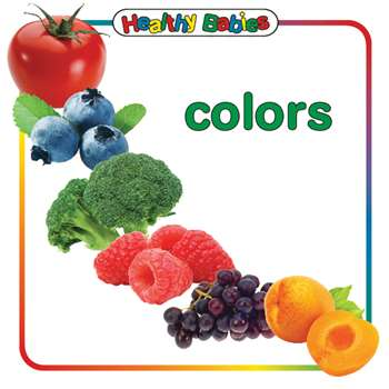 Colors Board Book English, GAR9780983722212