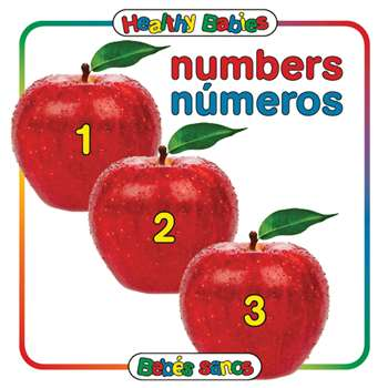Numbers Board Book Bilingual Spanish English, GAR9780983722250