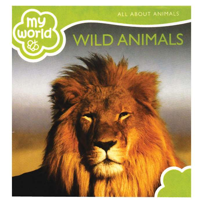 Wild Animals Board Book, GAR9781742114729