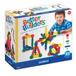 Magneatos Better Builders 30 Piece Set By Guidecraft Usa