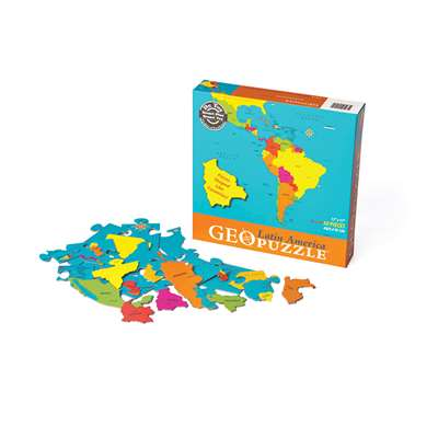 Latin America Geopuzzle By Geotoys