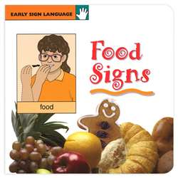 Early Sign Language Food Signs Board Book, GP-109