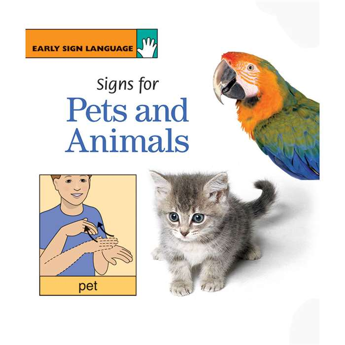 Early Sign Language Signs For Pets And Animals Boa, GP-110