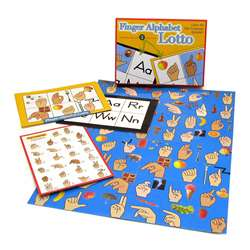 Finger Alphabet Lotto, GP-161