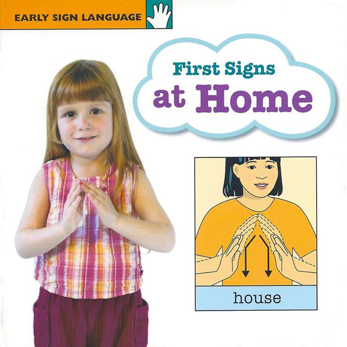 Early Sign Lang 1St Signs At Home Board Book, GP-9781930820425
