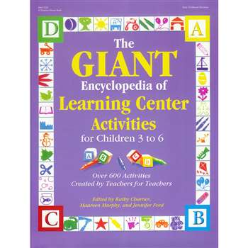 The Giant Encyclopedia Of Learning Center Activities By Gryphon House