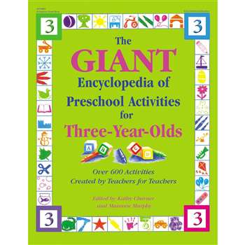 Giant Encyclopedia 3 Yr Olds Pr-K Activities By Gryphon House