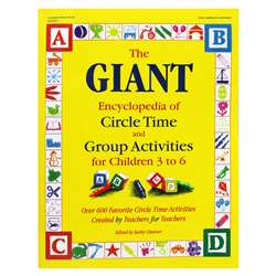 The Giant Encyclopedia Circle Time Ages 3-6 By Gryphon House