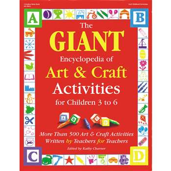 The Giant Encyclopedia Art & Craft Ages 3-6 By Gryphon House
