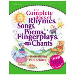 The Complete Book Of Rhymes Songs By Gryphon House