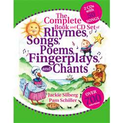 The Complete Book Of Rhymes Songs Poems Fingerpla By Gryphon House
