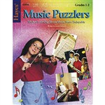 Music Puzzlers Book 1 Gr 1-2 By Hayes School Publishing