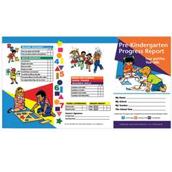 Pre Kindergarten Progress Report 10 Pk For 4 & 5 Year Olds By Hayes School Publishing