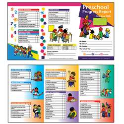 Preschool Progress Report 10Pk Age5 By Hayes School Publishing