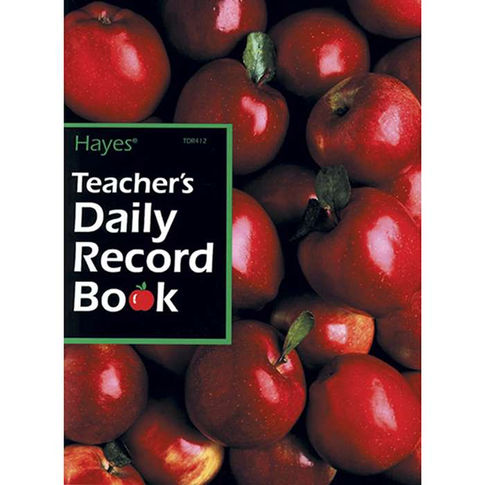Teachers Daily Record Book 40 Students By Hayes School Publishing