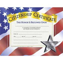 Certificates Citizenship 30 Pk 8.5 X 11 By Hayes School Publishing