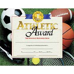 Certificates Athletic Award 30 Pk 8.5 X 11 By Hayes School Publishing