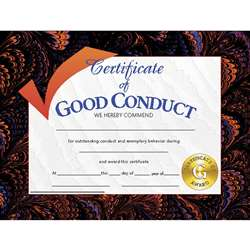 Certificates Good Conduct 30/Pk 8.5 X 11 By Hayes School Publishing