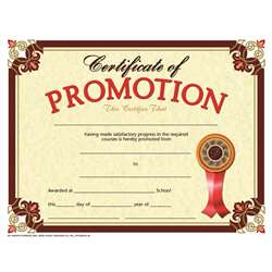 Certificate Promotion 30-Set By Hayes School Publishing