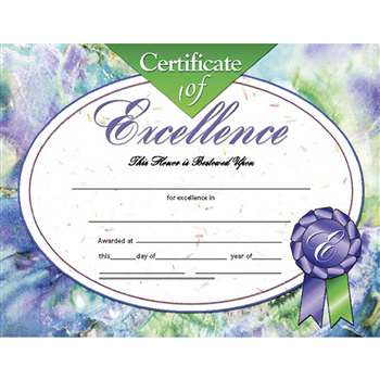Certificates Of Excellence 30/Pk 8.5 X 11 Inkjet Laser By Hayes School Publishing