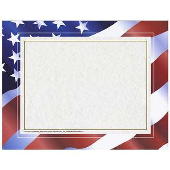 Stars N Stripes Certificate Border Computer Paper By Hayes School Publishing