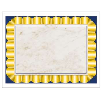 Gold Ribbon Certificate Border Computer Paper By Hayes School Publishing