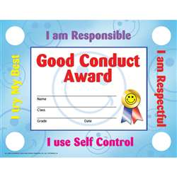 Good Conduct 30/Set By Hayes School Publishing