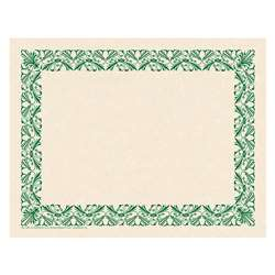 Art Deco Border Paper Green, H-VA917