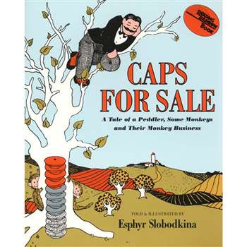 Caps For Sale Books For Pk-3 Preschool - 3 By Harper Collins Publishers