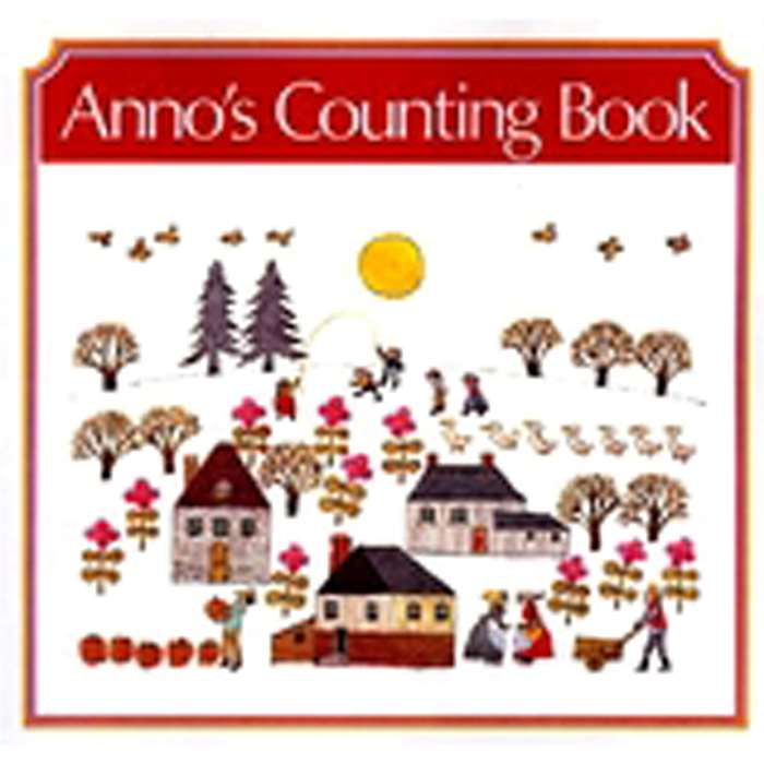 Annos Counting Book Big Book By Harper Collins Publishers