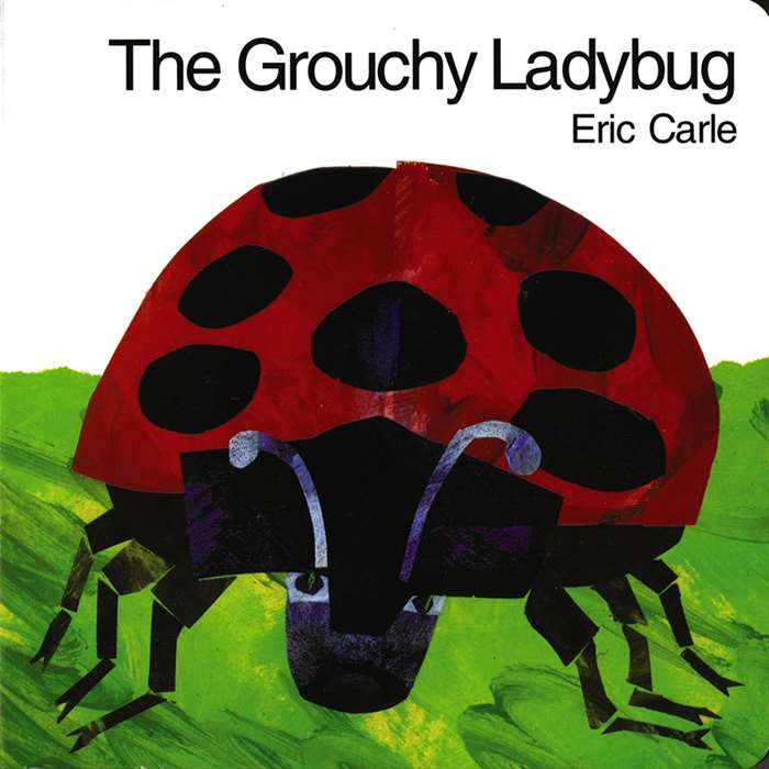 The Grouchy Ladybug Hardcover, HC-9780060270889
